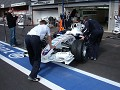 BMW Sauber getting ready