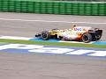 Nelson Piquet showed strong pace on Friday