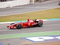 Kimi during another flying lap