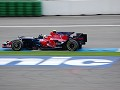 German upcoming star Vettel qualified a promising
