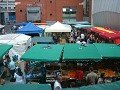 Temple Bar market on Meeting House sq. , a must if