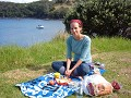 Picnic at Matheson Bay, Leigh, Goat Island area, N
