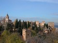 Alhambra, view from the Generalife