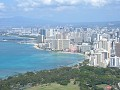 Honolulu as seen from Daimond Head, amazing views!