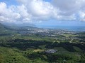 An impressive Pali lookout. just outside Honolulu.