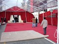 the Red Carpet is rolled out in preparation for th
