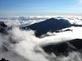 clouds circumnavigating the haleakala crater valle