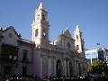 The church in Salta in the main square....