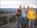 At Echo point up in blue mountains. The 3 stumps t