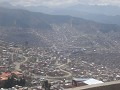 View looking down on La Paz.