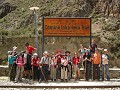 And this was all the gang we did the Inca Trail wi