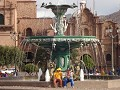 Foutain in main plaza in Cusco