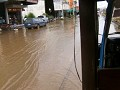 Wateroverlast door plotse regenbui 