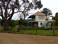 Villa van de Cheese factory op Bruny Island.....