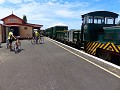 .....het station in Waihi....
