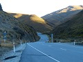 Via de Crowne Range Road van Wanaka naar Queenstow