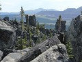 Tumbler Ridge - Core Lodge - Boulder Gardens trail