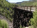 Kelowna, Myra Canyon, Kettle Valley Railway fietst