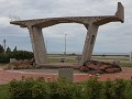 Confederation Bridge monument