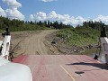 Heritage Trail - aankomst Liard River ferry
