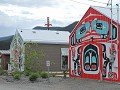 traditionele kunst in Carcross, Klondike Hwy