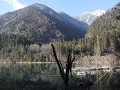 Jiuzhaigou NP, Arrow Bamboo lake en omgeving