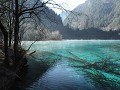 Jiuzhaigou NP, Five-flower lake, glashelder