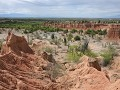 El Desierto Tatacoa - Red Shaped Valley