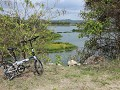 Parque Lago Area Nacional Recreacion, fietsen lang