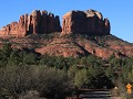 Sedona, Red Rock area, Bell Rock & Courthouse Butt