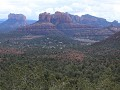Sedona, Red Rock area, uitzicht van Upper Red Rock