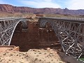 Glen Canyon NRA - de dubbele Navajo Bridge