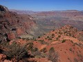 Grand Canyon - South Kaibab Trail naar Cedar Ridge