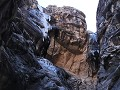 Red Rock Canyon, Ice Box Canyon, ijswatervallen aa
