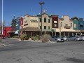 Pahrump, Gold Town casino, waar we op de parking o