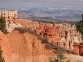 Bryce Canyon NP - parkweg naar Rainbow Point