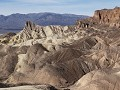Death Valley, uitzicht aan Zabriskie Point