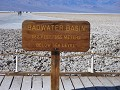 Death Valley, Badwater, laagst gelegen plaats in