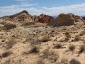 Valley of Fire, langs Fire Canyon Road