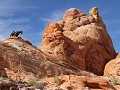 Valley of Fire, White Domes wandeling - net als in