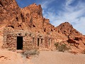 Valley of Fire, 3 cabins, oud logement voor trekke