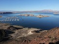 Lake Mead aan Hoover Dam