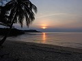 Koh Rong - Lonely Beach - Zonsondergang