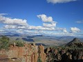 Graaff Reinet - op top van Valley of Desolation (C
