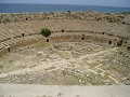 Roman amphitheatre on the site of Leptis Magna.