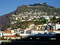 Madeira with its typical buildings on the hill sid