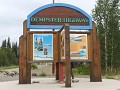 Begin van de Dempster Highway