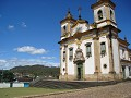 Mariana, close to the more famous Ouro Preto but k
