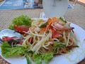 Green Papaya salad - thaise lunch