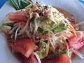 Papaya salad... ja, thai food!